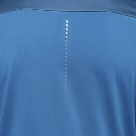 asics Windblock LS Half Zip Hemd Herren mako bluedeep sapphire